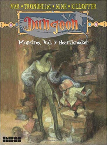 Dungeon Monstres Vol 3: Heartbreaker TP, signed by Lewis Trondheim!