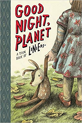 Good Night Planet HC, signed & sketched by Liniers!
