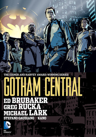 Gotham Central Omnibus HC, signed by Ed Brubaker!