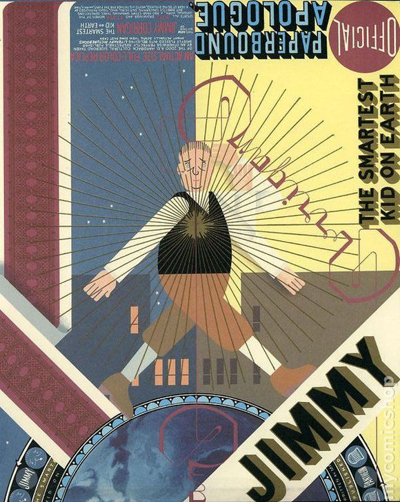 Jimmy Corrigan GN, Signed by Chris Ware