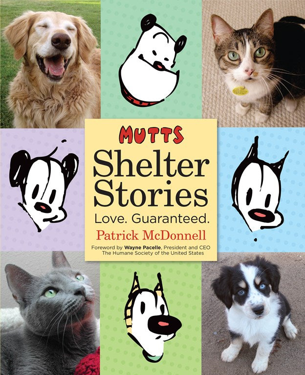 Mutts: Shelter Stories SC, signed by Patrick McDonnell!