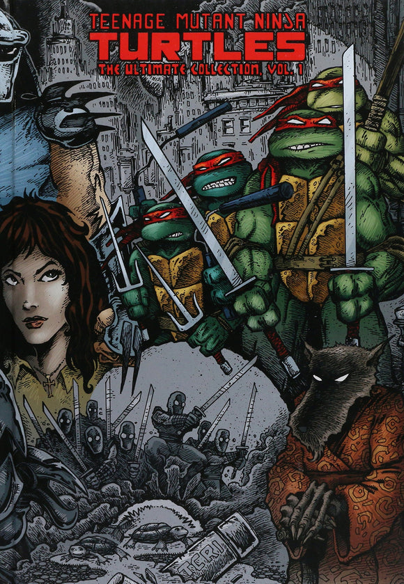 Teenage Mutant Ninja Turtles Ultimate Collection Volume One HC, signed by Kevin Eastman!