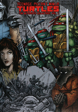 Teenage Mutant Ninja Turtles Ultimate Collection Volume One HC, signed and sketched by Kevin Eastman!