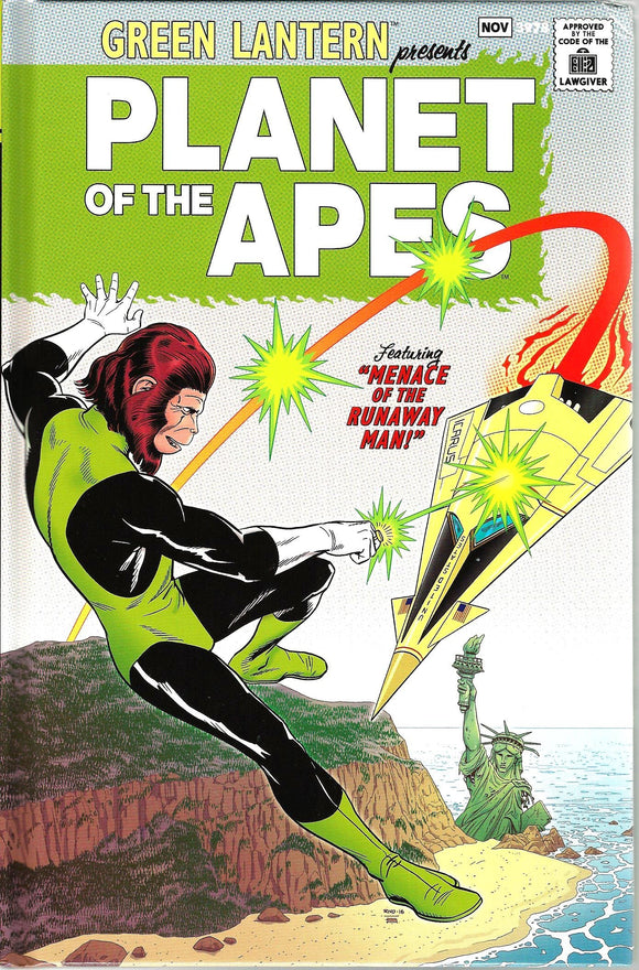 Green Lantern Presents Planet of the Apes CBLDF Limited, Special Edition HC!
