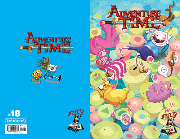 Adventure Time #18 Liberty Variant