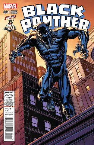 Black Panther #1, CBLDF Todd Nauck Variant!