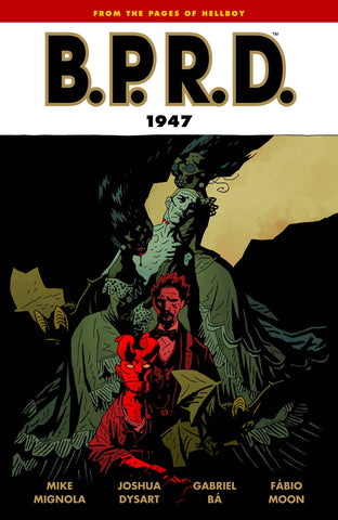 BPRD 1947 TP (Vol 13), Signed by Gabriel Bá & Fábio Moon!