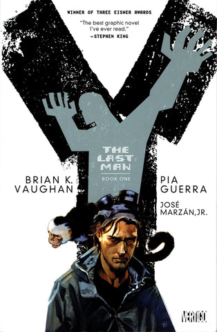 Y: The Last Man Deluxe Edition HC Vol 1, Signed by Brian K. Vaughan!