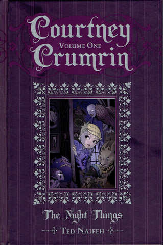 Courtney Crumrin Volume One Signed and Sketched by Ted Naifeh