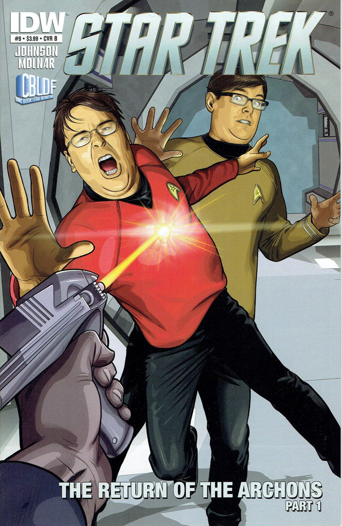 "Star Trek #9 ""Be A Redshirt"" Rare variant!"