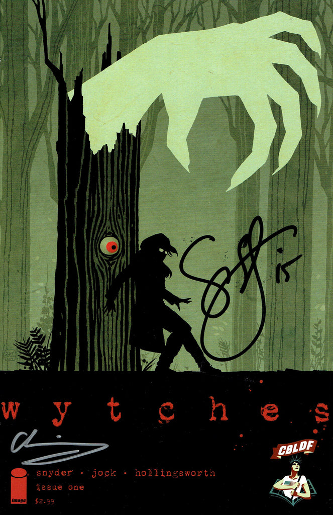Wytches #1 CBLDF Exclusive Variant, Signed by Scott Snyder and Cliff Chiang!