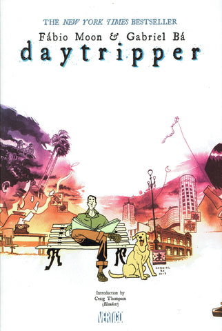Daytripper TP, PERSONALIZED by Fábio Moon & Gabriel Bá!