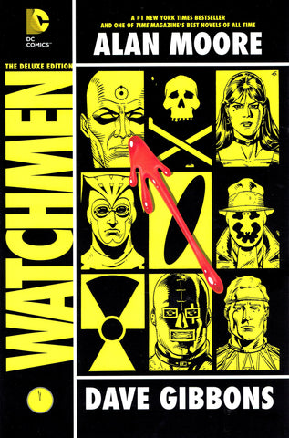 Watchmen Deluxe Hardcover, PERSONALIZED by Dave Gibbons!