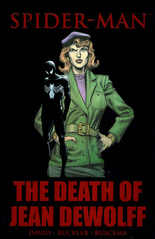 Spider-Man: Death of Jean Dewolff Premiere HC, Signed by Peter David!