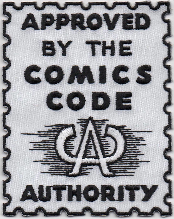 Comics Code Authority Seal Embroidered Patch