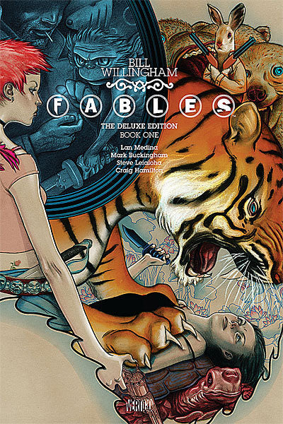 Fables Deluxe Edition Volume 1, Signed by Bill Willingham OR Mark Buckingham!