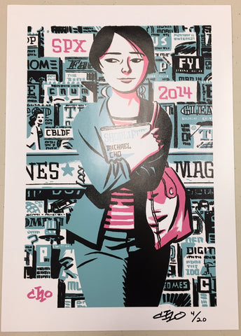 Michael Cho Signed & Numbered Exclusive CBLDF SPX 2014 Print!