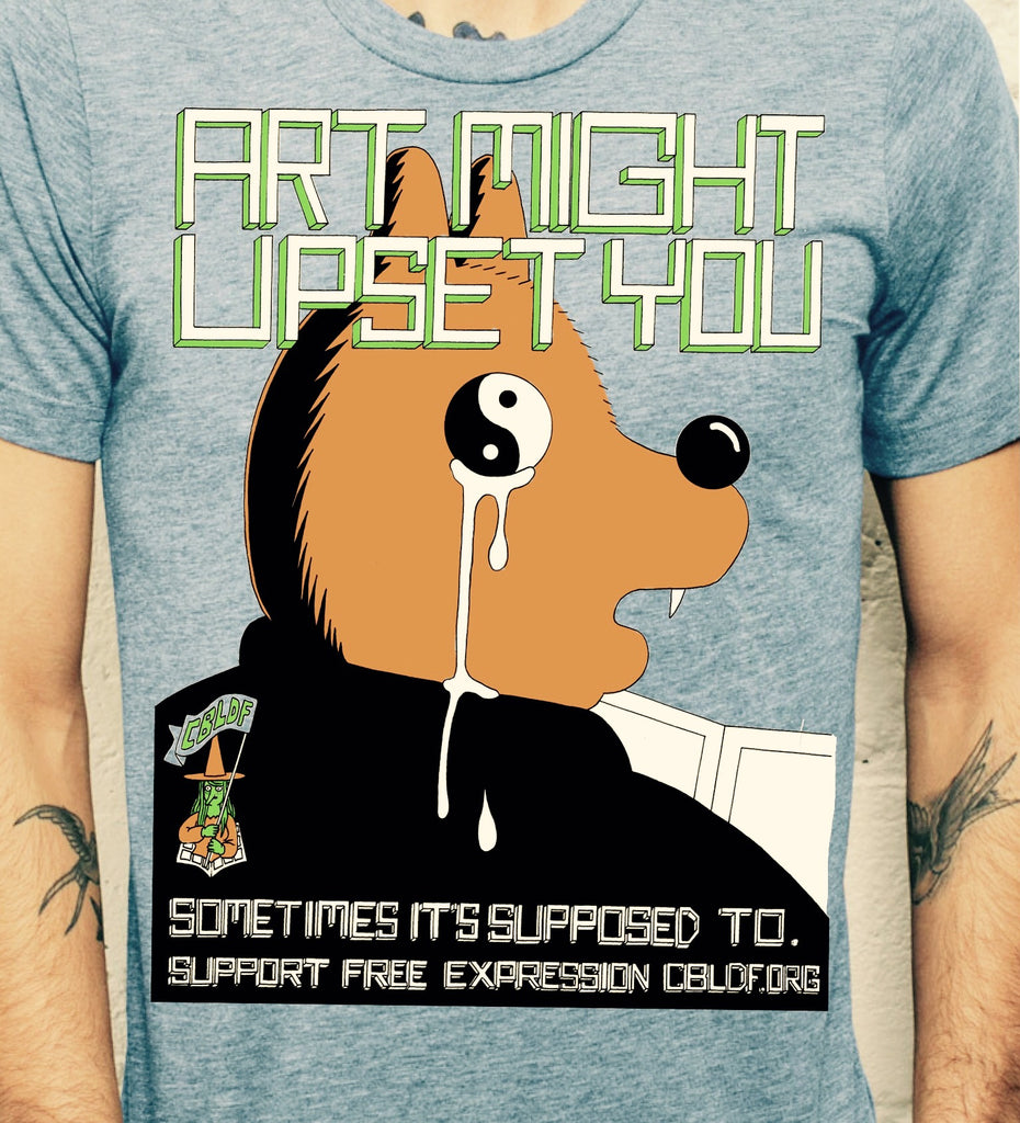 Art Might Upset You T-Shirt