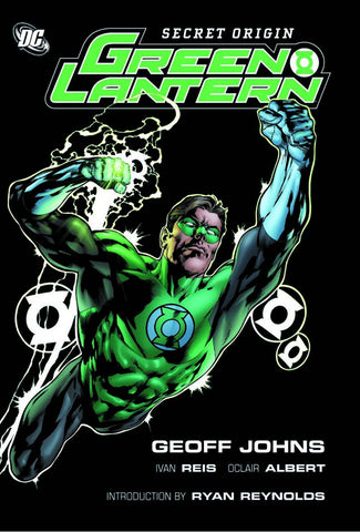 GREEN LANTERN: SECRET ORIGIN, hardcover signed by Ivan Reis!