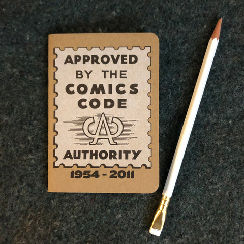 Comics Code Authority Pocket Notebook
