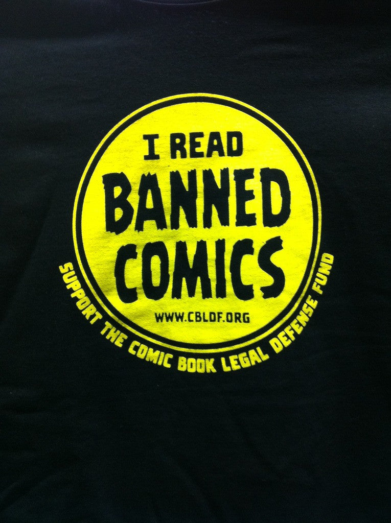 I Read Banned Comics T-Shirt