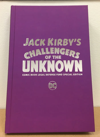 Challengers of the Unknown CBLDF Limited, Special Edition HC!