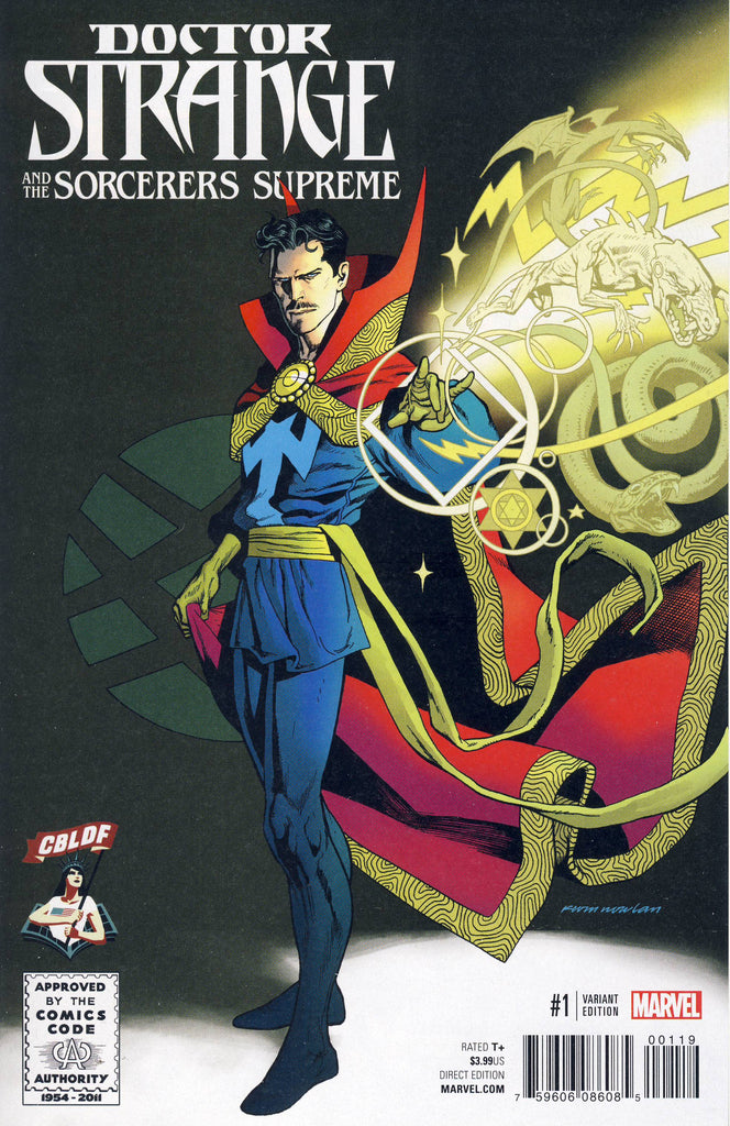 Doctor Strange & the Sorcerers Supreme #1 CBLDF Exclusive Kevin Nowlan Variant