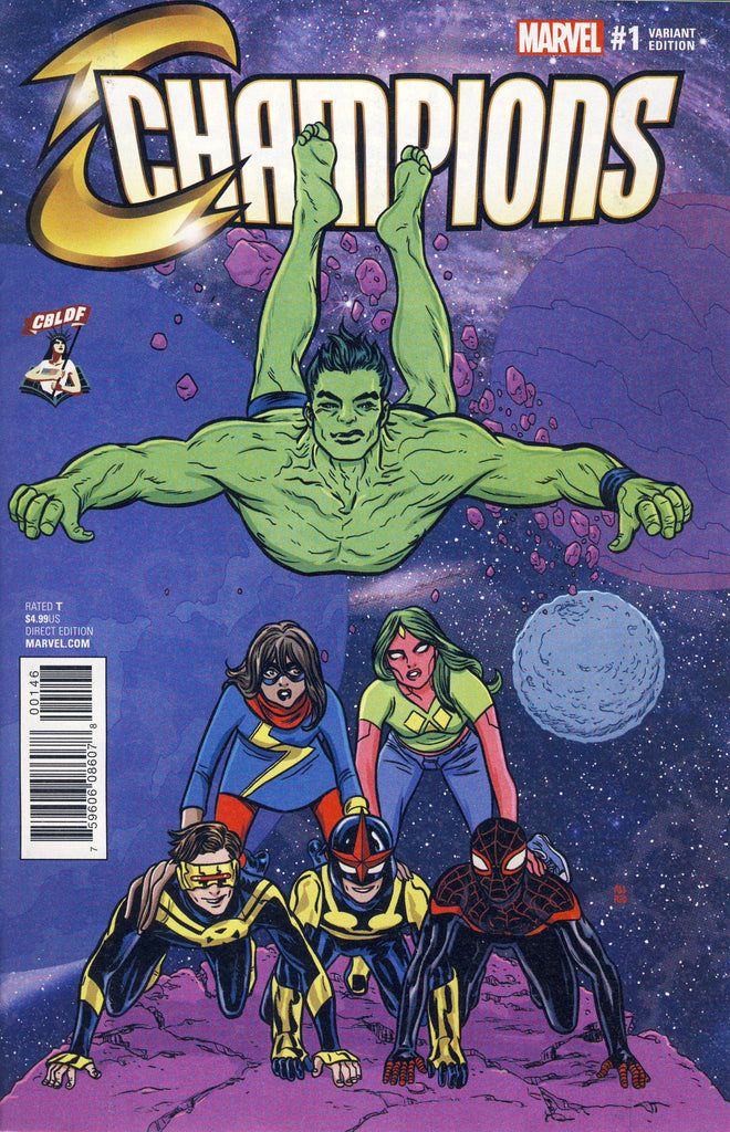 Champions #1 CBLDF Exclusive Mike Allred Variant