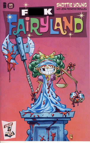 I Hate Fairyland #1 CBLDF Exclusive F*ck Fairyland Explicit Variant
