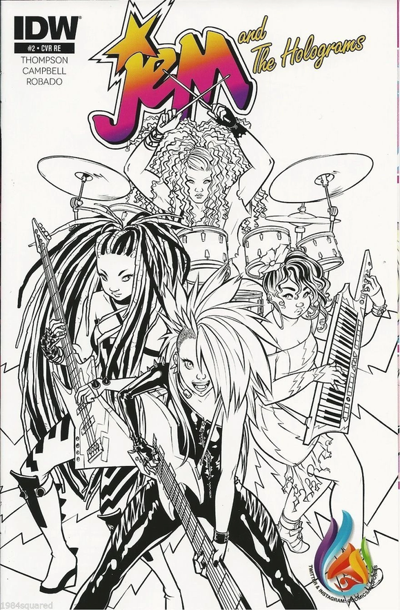 Jem & The Holograms #2 Comics & Ponies Variant