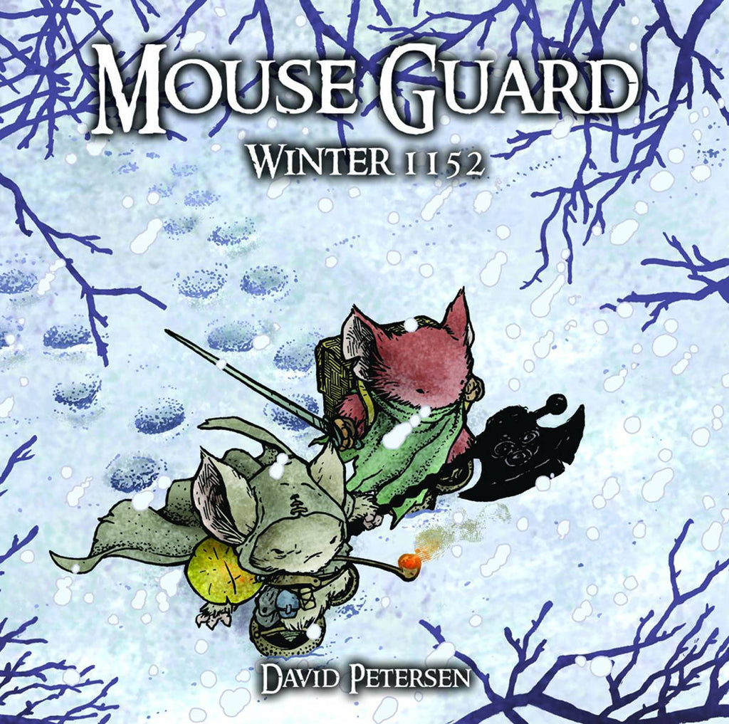 Mouse Guard: Winter 1152 HC, Signed by David Petersen!