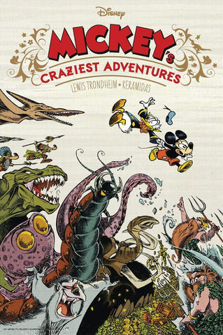 Mickey's Craziest Adventures HC, signed by Lewis Trondheim!