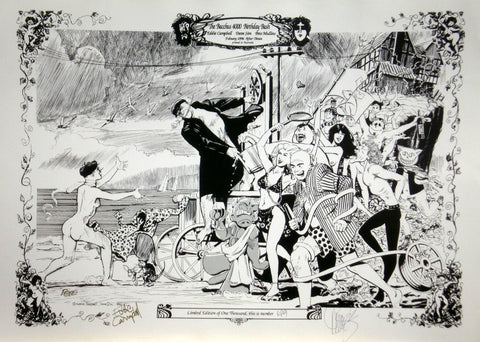 Bacchus 4000th Birthday Print, signed by Eddie Campbell & Dave Sim!
