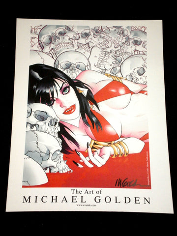 Vampirella: The Art of Michael Golden Signed Print