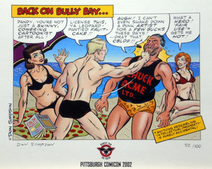Back on Bully Bay Print, signed by Don Simpson!
