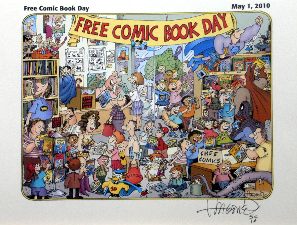 Free Comic Book Day Print, signed by Sergio Aragonés!