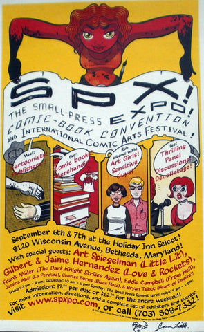 SPX 2002 Show Poster by Jason Little, Signed!