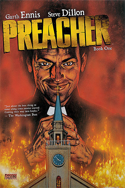 Preacher HC Volume 1, signed by Garth Ennis!