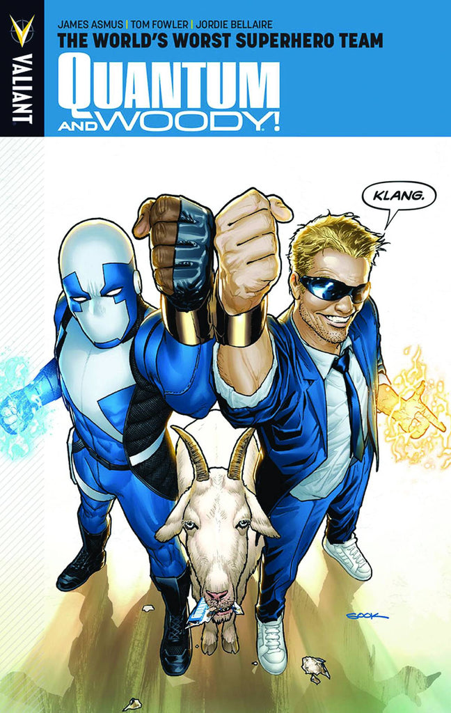 "Quantum & Woody Vol 1 ""World's Worst"" TP SIGNED by James Asmus!"