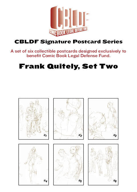 Frank Quitely Postcard Series, Set Two
