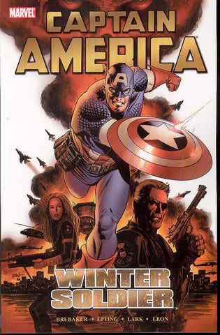 Captain America: Winter Soldier Ultimate Edition TP, signed by Ed Brubaker!