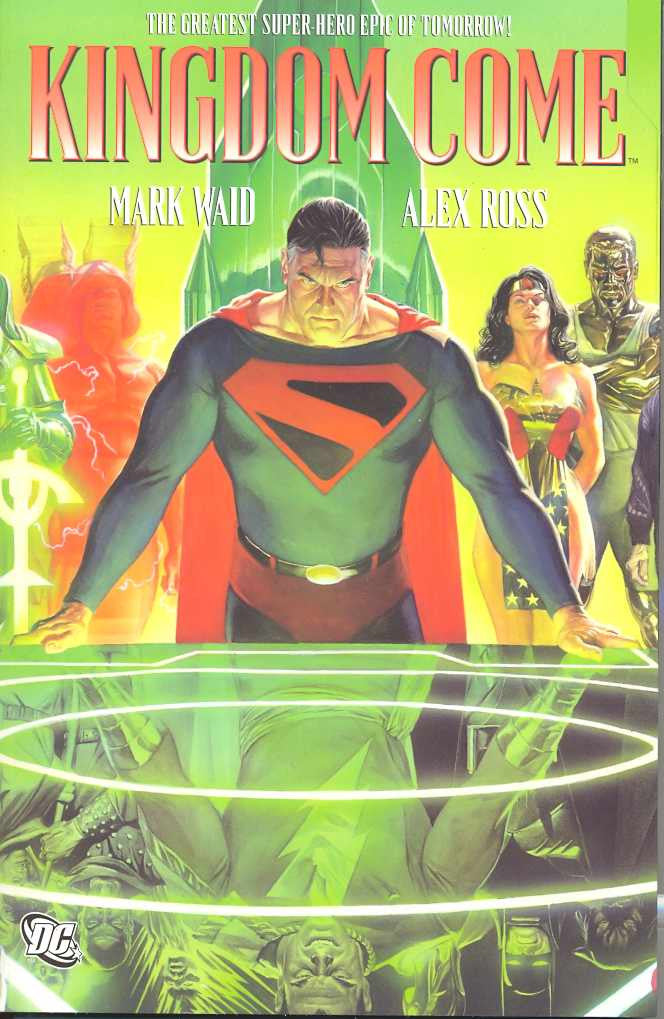 Kingdom Come Deluxe Hardcover, signed by Mark Waid!