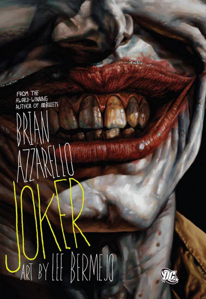 Joker HC, signed by Brian Azzarello or Lee Bermejo!