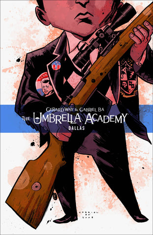 Umbrella Academy Vol 2 TP, signed by Gabriel Bá!