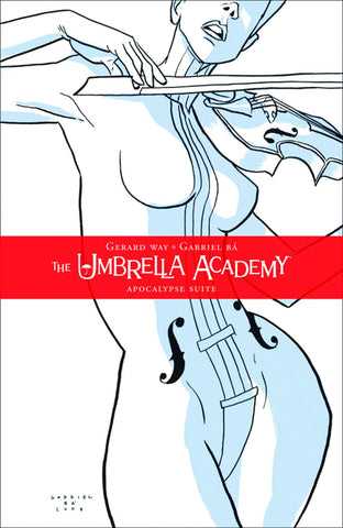 Umbrella Academy Vol 1 TP, signed by Gabriel Bá!