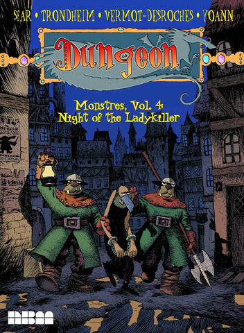 Dungeon Monstres Vol 4: Night of the Ladykiller TP, signed by Lewis Trondheim!