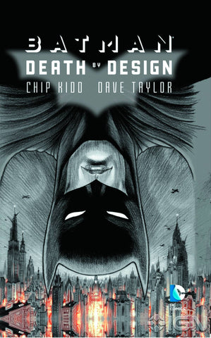 Batman: Death by Design HC, signed by Chip Kidd!