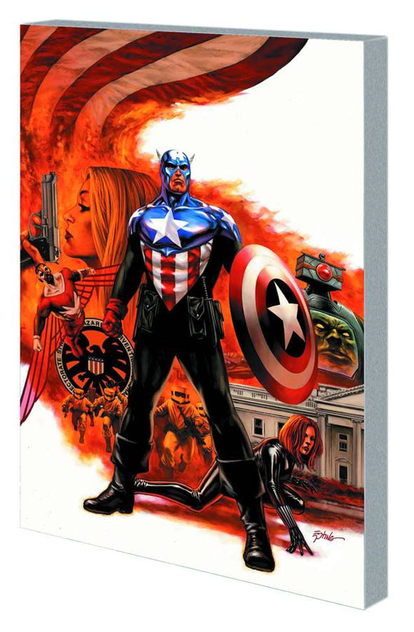 Death of Captain America Ultimate Collection TP, signed by Ed Brubaker!