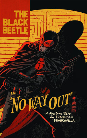 The Black Beetle HC, signed by Francesco Francavilla!