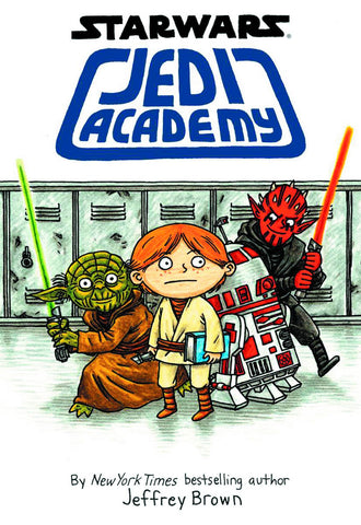 Jedi Academy Vol 1 HC, signed by Jeffrey Brown!